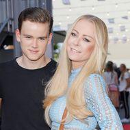Jenny Elvers und ihr Sohn Paul