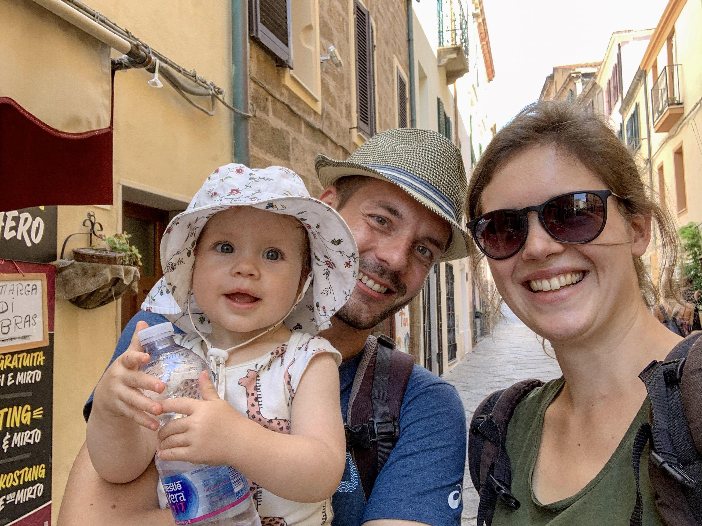 Anne und Carsten mit ihrer Tochter