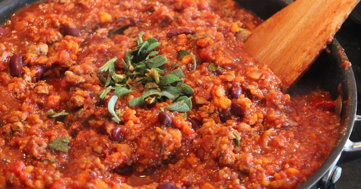 Alfred Biolek: Vegetarisches Rezept von 1998: Chili sin Carne