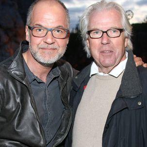 Marek Erhardt und sein Vater Gero Erhardt