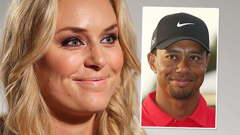 """Lindsey Vonn: """"Ja, ich bin mit Tiger Woods zusammen"""""""