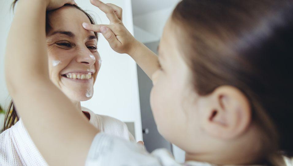 Gesichtscreme mit UV-Schutz Getty