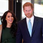 Prinz Harry und Herzogin Meghan bei einer Veranstaltung im Oktober 2019 in London