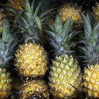 Ananas, Ananas schälen, Ananas essen