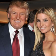 Donald Trump and Ivanka Trump attend the 'The Trump Card: Playing to Win in Work and Life' book launch celebration at Trump Tower on October