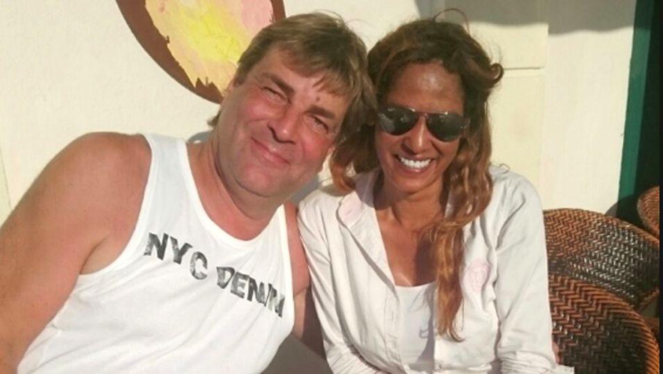 Nadja abd el Farrag und Michael Weber genossen einen Tag auf Mallorca. Wird aus den Freunden ein Paar?