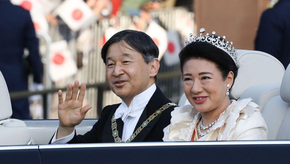 Kaiser Naruhito und Kaiserin Maskao