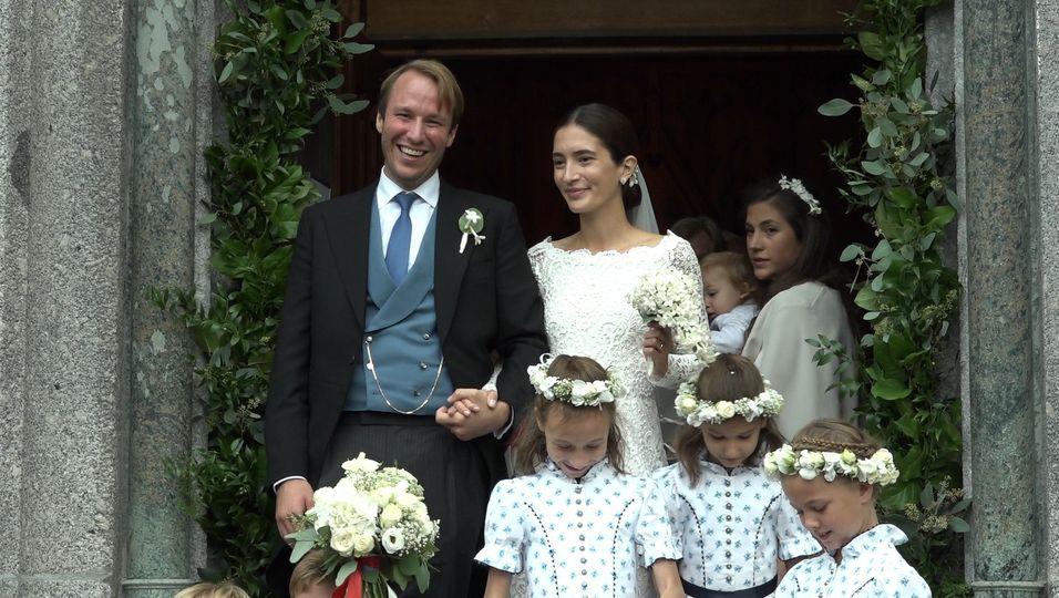 Mit Hochadel & Jetset: So eine Hochzeit hat St. Moritz noch nicht gesehen!