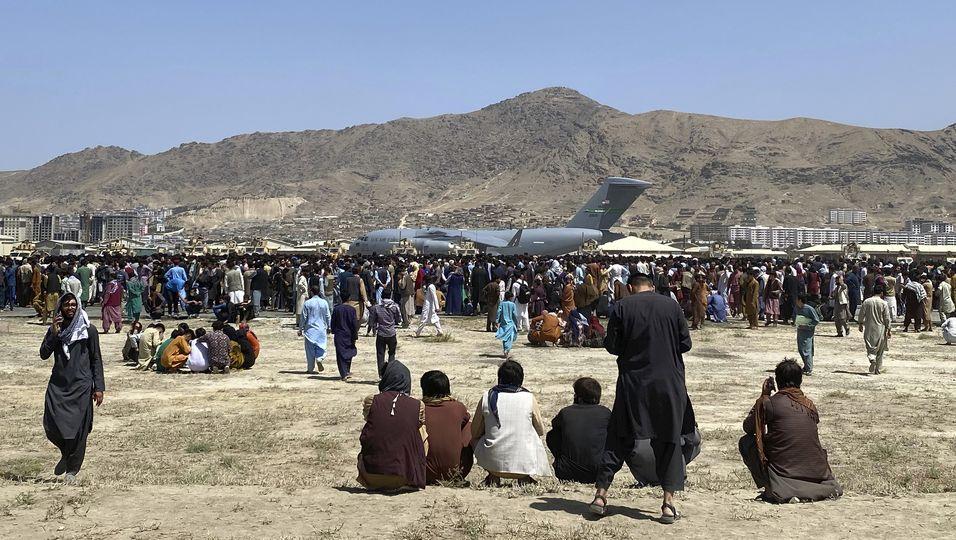 Flughafen in Kabul