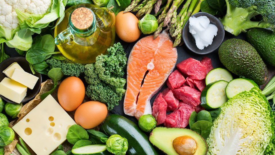 Lebensmittel, die eine ketogene Ernährung begünstigen