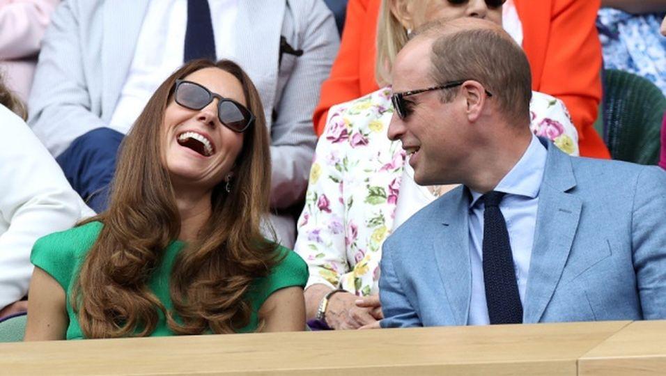 Nach 10 Jahren Ehe knistert es noch immer – Bei Wimbledon sprühen die Funken