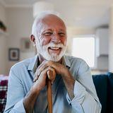 """Emotionales """"Wiedersehen"""" 98-Jähriger bricht in Tränen au"""