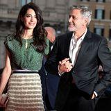Amal und George Clooney bei einer Veranstaltung im Mai 2019 in Rom