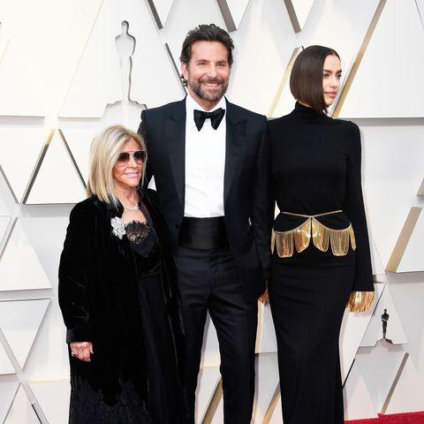 Gloria Campano,  Bradley Cooper, and Irina Shayk