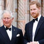 Prinz Harry und Prinz Charles