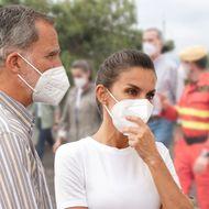 Felipe & Letizia von Spanien: Emotionale Bilder: Sie reisen ins Krisengebiet