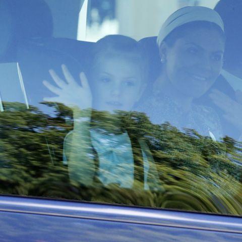 Princess Estelle, Duchess of Ostergotland and Crown Princess Victoria of Sweden