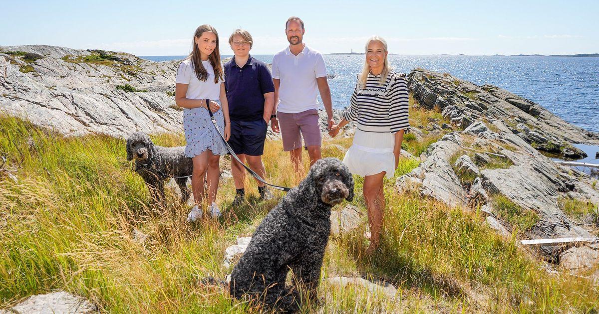 Haakon & Mette-Marit von Norwegen: Die Familie trauert: Ihr Hund Muffins Krakebolle ist gestorben