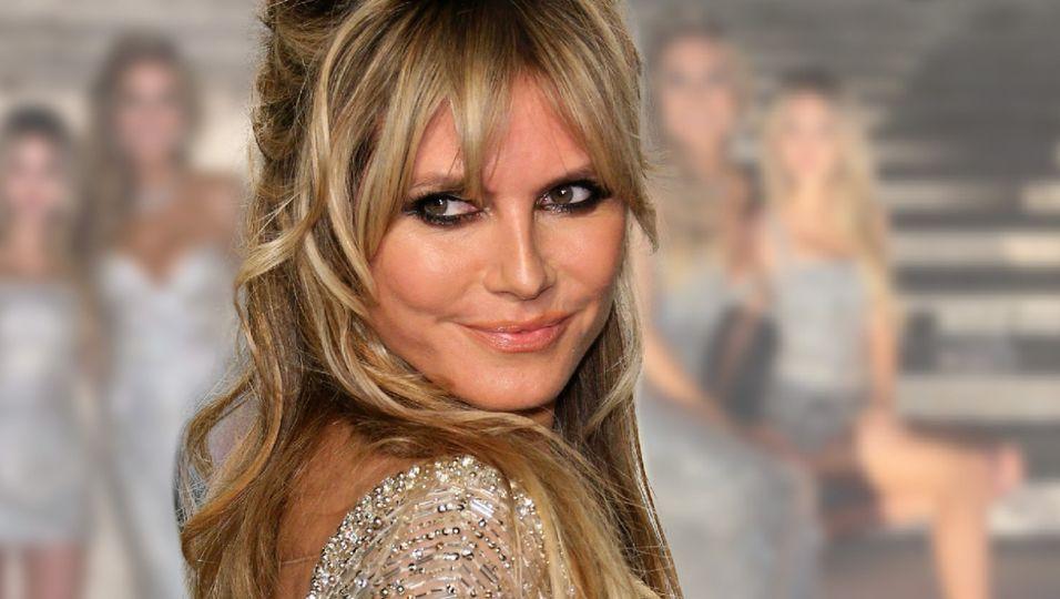 Im Glitzer-Look verzaubert sie mit Tochter Leni Venedig
