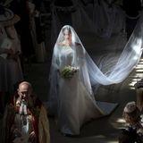 Meghan im Brautkleid