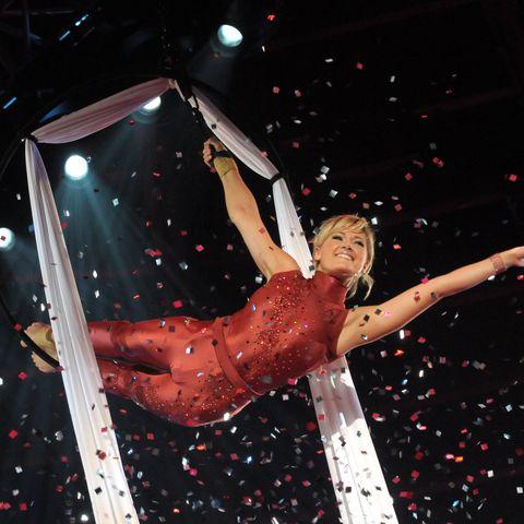 Helene Fischer attends the Stars In Der Manege At Circus Crone on December 6, 2008 in Munich,