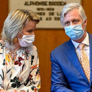 Philippe & Mathilde von Belgien