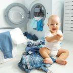 Baby Wäsche, Wäsche waschen, Babysachen waschen