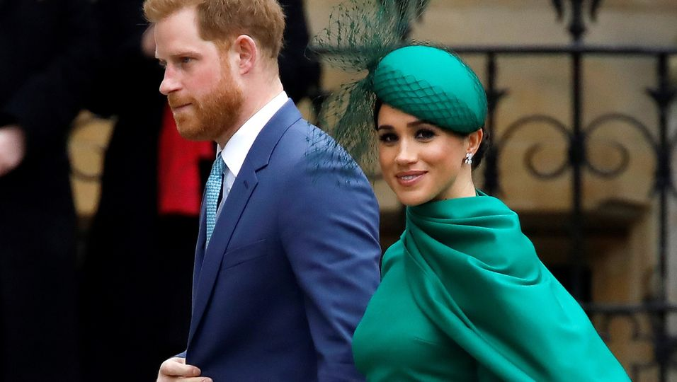 Fröhliche Mienen: Ihr letzter Auftritt mit der Royal Family