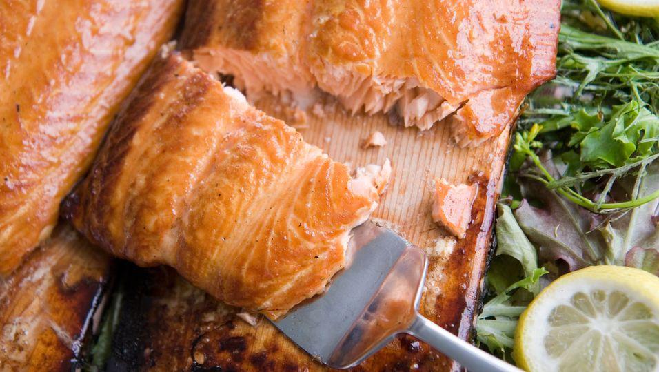 Lachs ist ein wichtiger Teil der sogenannten Eskimo-Diät