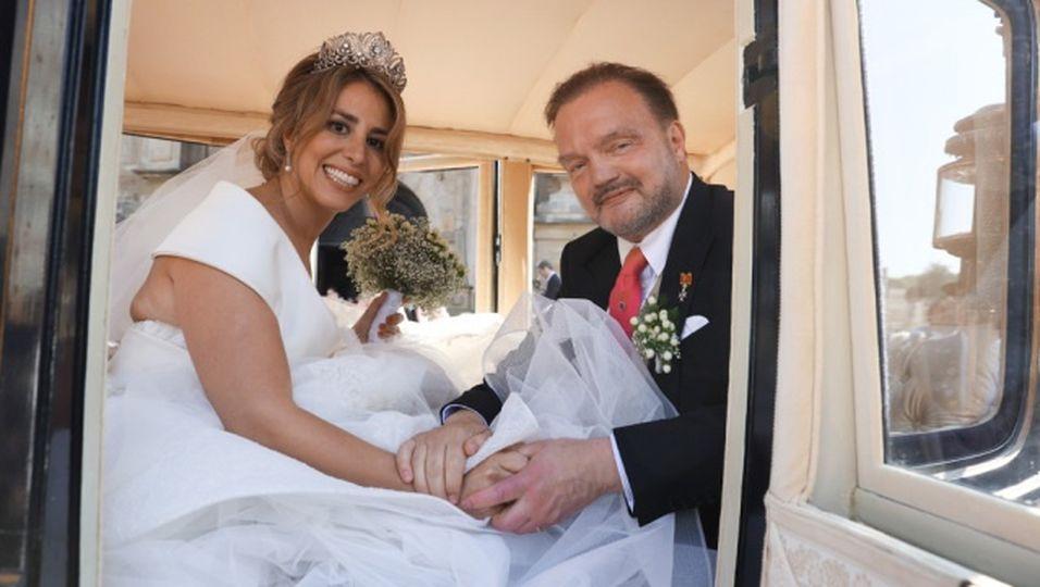 Märchenhochzeit! Ihr Hochzeitslook ist wahrlich zauberhaft