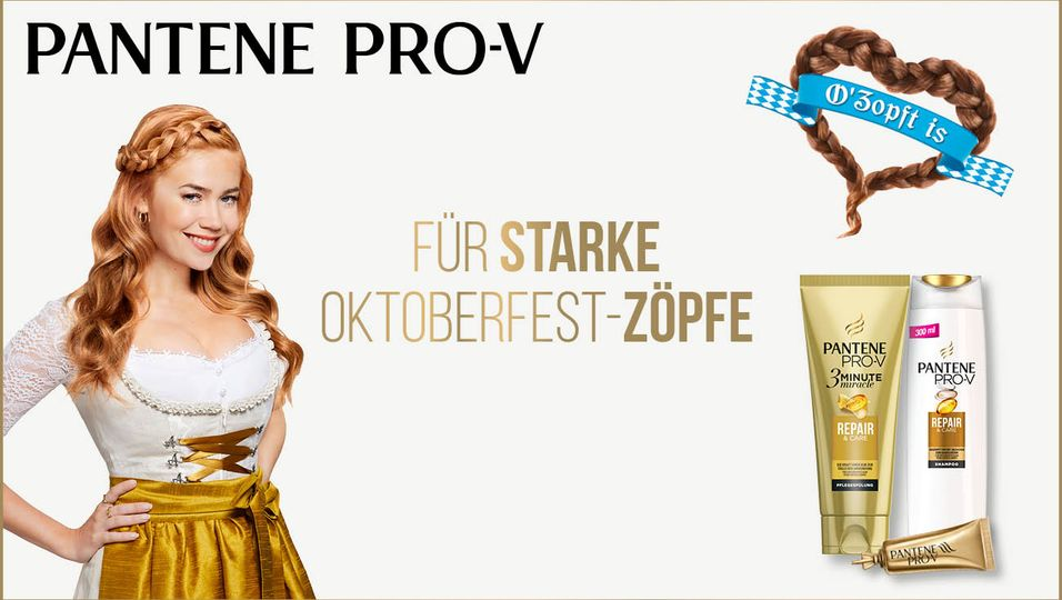Pantene Pro-V Aufmacher Oktoberfest