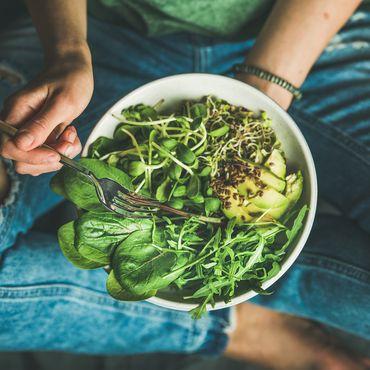 green Food Bowls