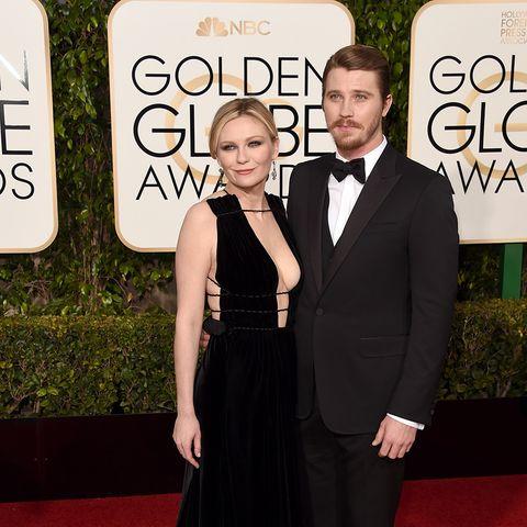 Golden Globe Awards 2016 - Kirsten Dunst; Garrett Hedlund