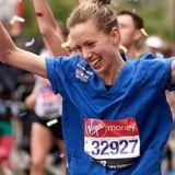 Marathon-Krankenschwester