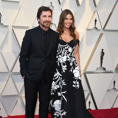 Best Actor nominee for 'Vice' Christian Bale and his wife Sibi Blazic