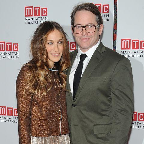 Sarah Jessica Parker und Matthew Broderick: Sie ist Stilikone, ihm sind Klamotten weitgehend egal. Es funkioniert!