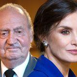 Letizia von Spanien, Juan Carlos von Spanien