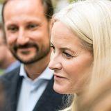 Kronprinzessin Mette-Marit und Prinz Haakon von Norwegen
