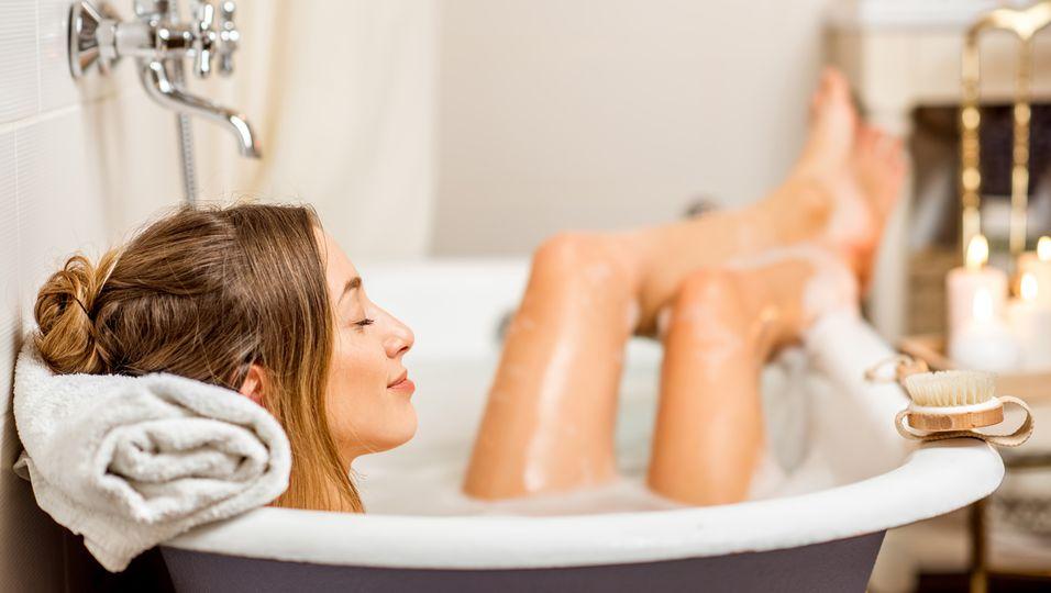 baden gehen Badewanne