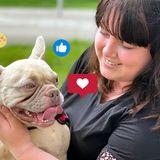 Krebskranker Hund findet über Instagram ein neues liebevolles Zuhause