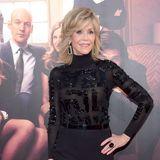 Jane Fonda   Rollkragenpullover einmal anders