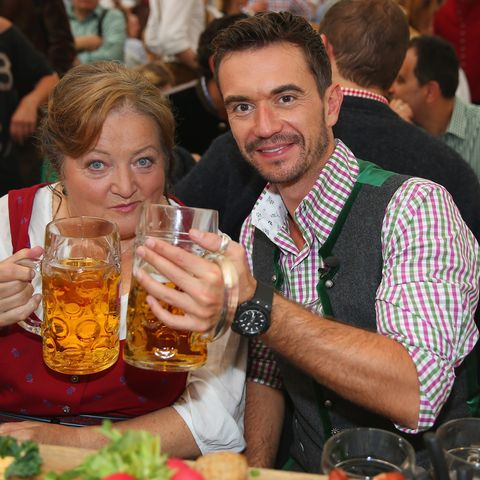 Marianne Sägebrecht, Florian Silbereisen