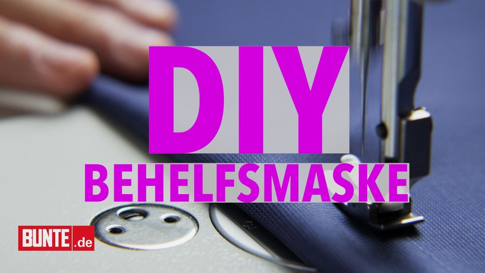 DIY Behelfsmaske