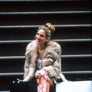 Im Gegensatz zu ihrem Serien-Charakter Carrie Bradshaw, die am liebsten in teuren Designershops ihr Geld ausgab.