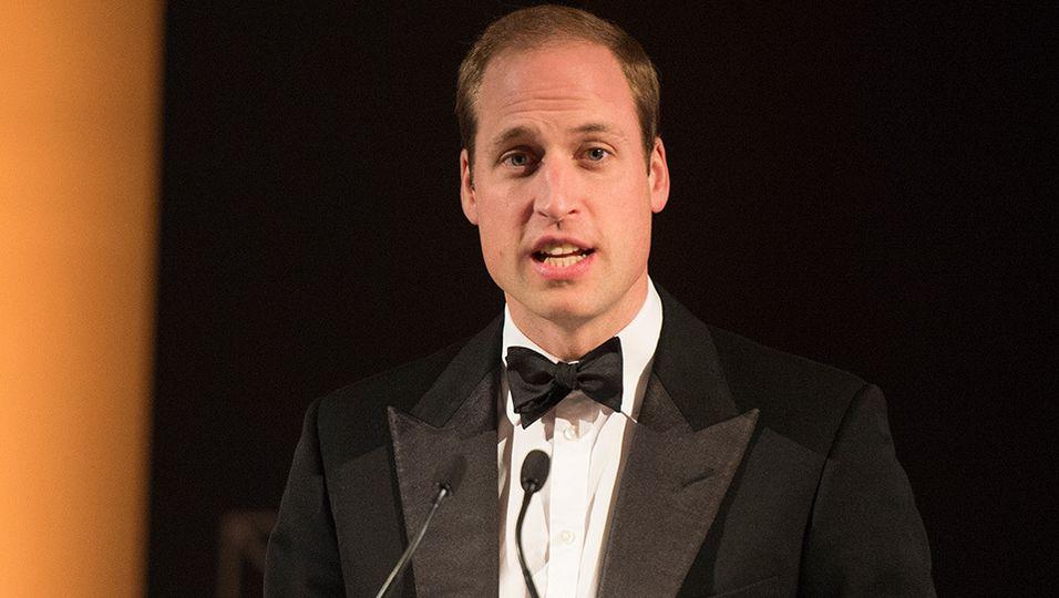 Prinz William | Scherze über Alarmsystem für Söhnchen George