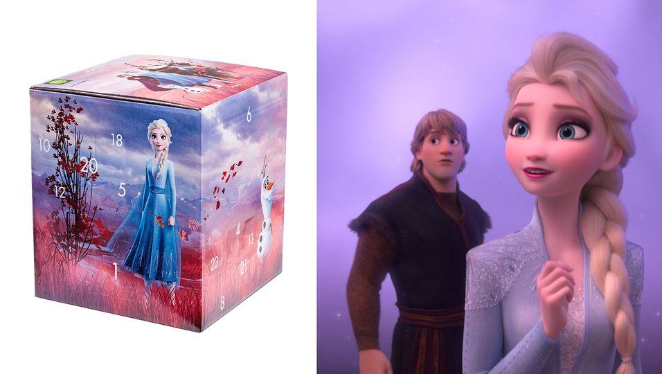 Frozen Mymuesli Adventskalender