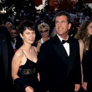 Mel Gibson and and Robyn Moore