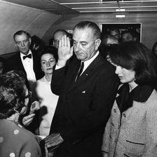 Lady Bird Johnson und Lyndon Baines