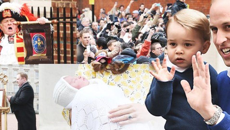 Die Highlights der royalen Geburt!