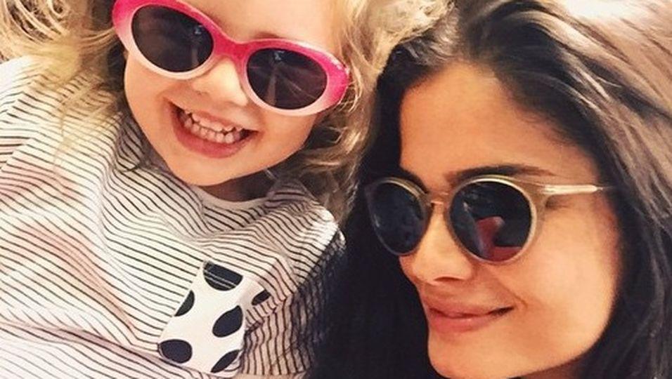 Shermine Shahrivar und Tochter Aurelia Dahlia – ein zuckersüßes Gespann!